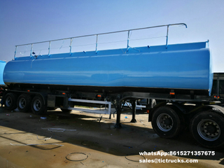 3 BPW axles Air Bag Suspension 42000L Oil Fuel Tanker Tank Trailer