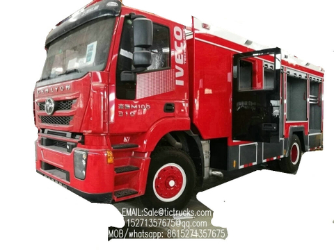 IVECO Technology 4x2 water tanker fire truck