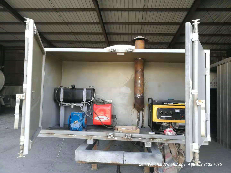 9m3 hot asphalt moving tank -00- Bitumen Tank truck
