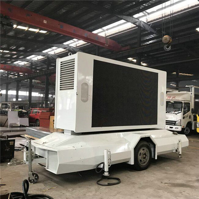 P6 LED Mobile Trailer Mounted Two sides LED Screen For Advertising IN stock for sale