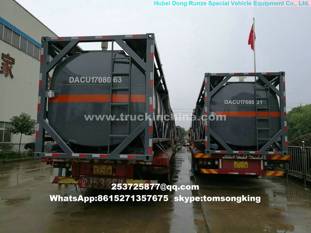 10 units 20 FT Tank Container PE Lined Tank export to Hanoi, Vietnam
