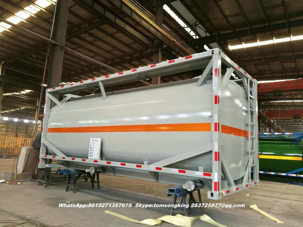 ISO tank HCl acid-33