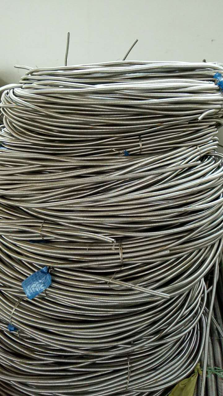 Helix/ Spiral Ss Tube with Ss Wire Braid Flex Metal Hose Pipe - Buy ...