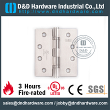 Stainless Steel Grade 316 Full Mortise Hinge with UL Certificate for Fire Door-DDSS443-DDSS001-FR