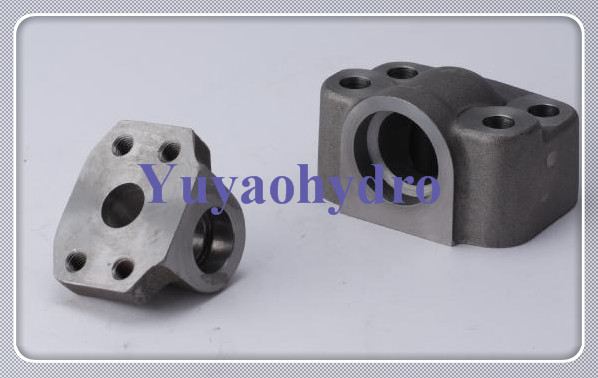 Sae flange block socket weld pipe in line special forged