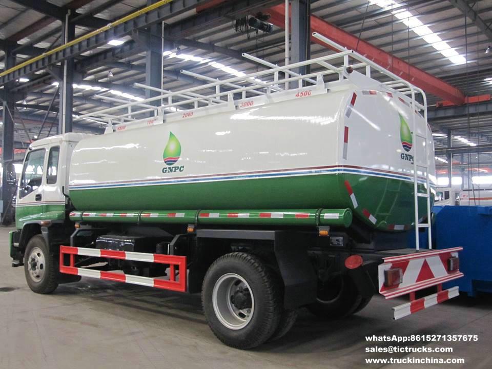 Transport vehicle-15T de pétrole d'ISUZU ISUZU