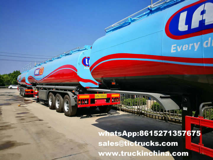 50 units tank semi trailers making every drop move your future- for Lake Oil Group