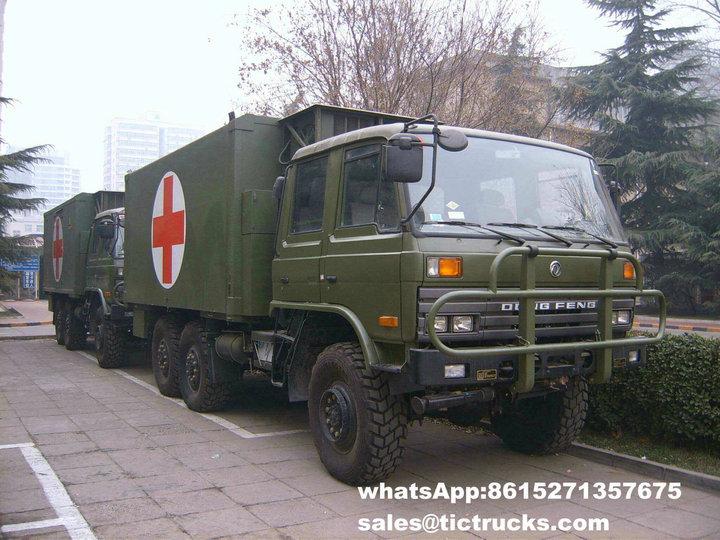 6X6 outre de véhicule médical de route - clinique mobile Truck_1.jpg