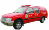 JMC Pickup Fire Truck 4x4 All Wheel Drive Euro 5 With Water Mist Fire Engine
