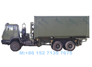 Mobile Rolling Kitchen Military Truck Customizing