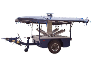 Military Mobile Cooking Kitchen Trailer