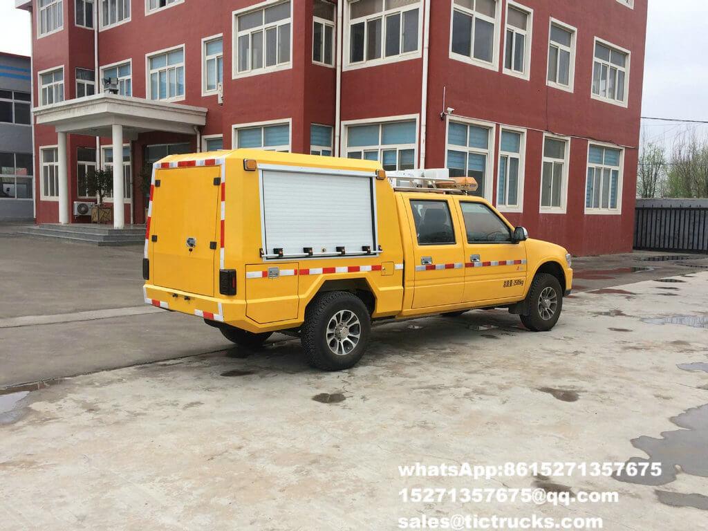 Camion 2.jpg de délivrance d'ingénierie d'ISUZU