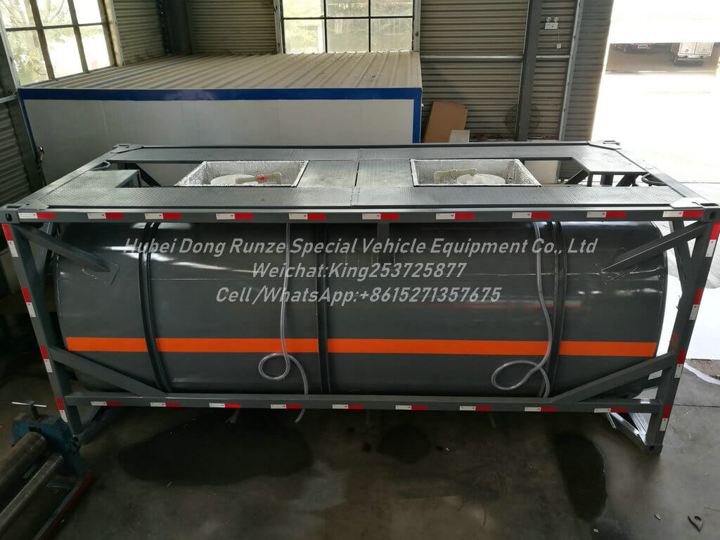 Bleach ISO TANK -18m3- Tank Container Lined PE