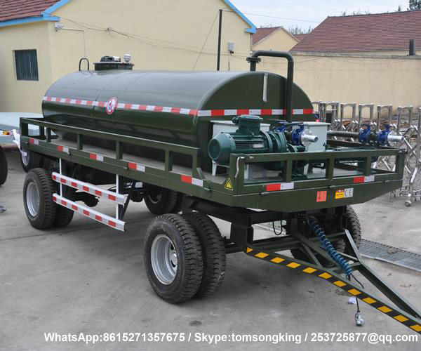 Dolly Tank Trailer-5200Liters water
