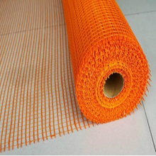 110g/sqm, 10*10mm Orange Alkali Resistant Fiberglass Mesh