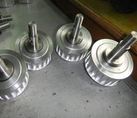 Drive Pulley with Shaft of Vertical Packer