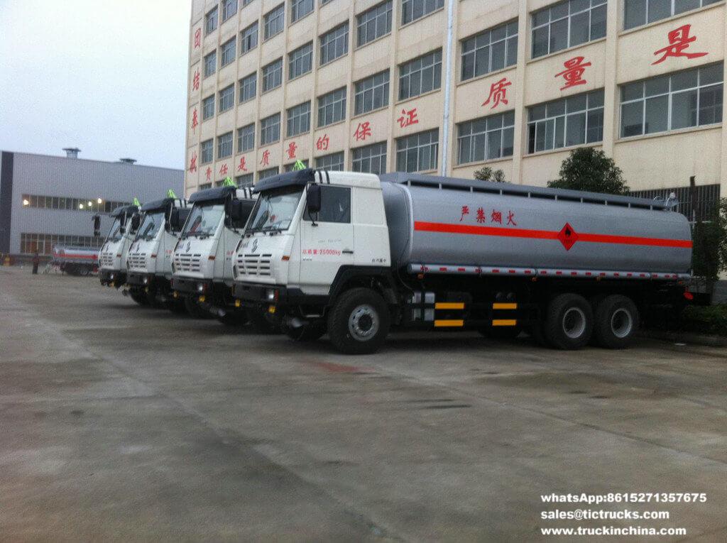 Shacman refueling vehicle S2000 6x4