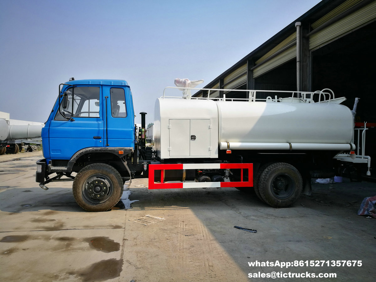 water tank lorry Fire fighting truck 1200Gallon export to YANGON,MYANMAR