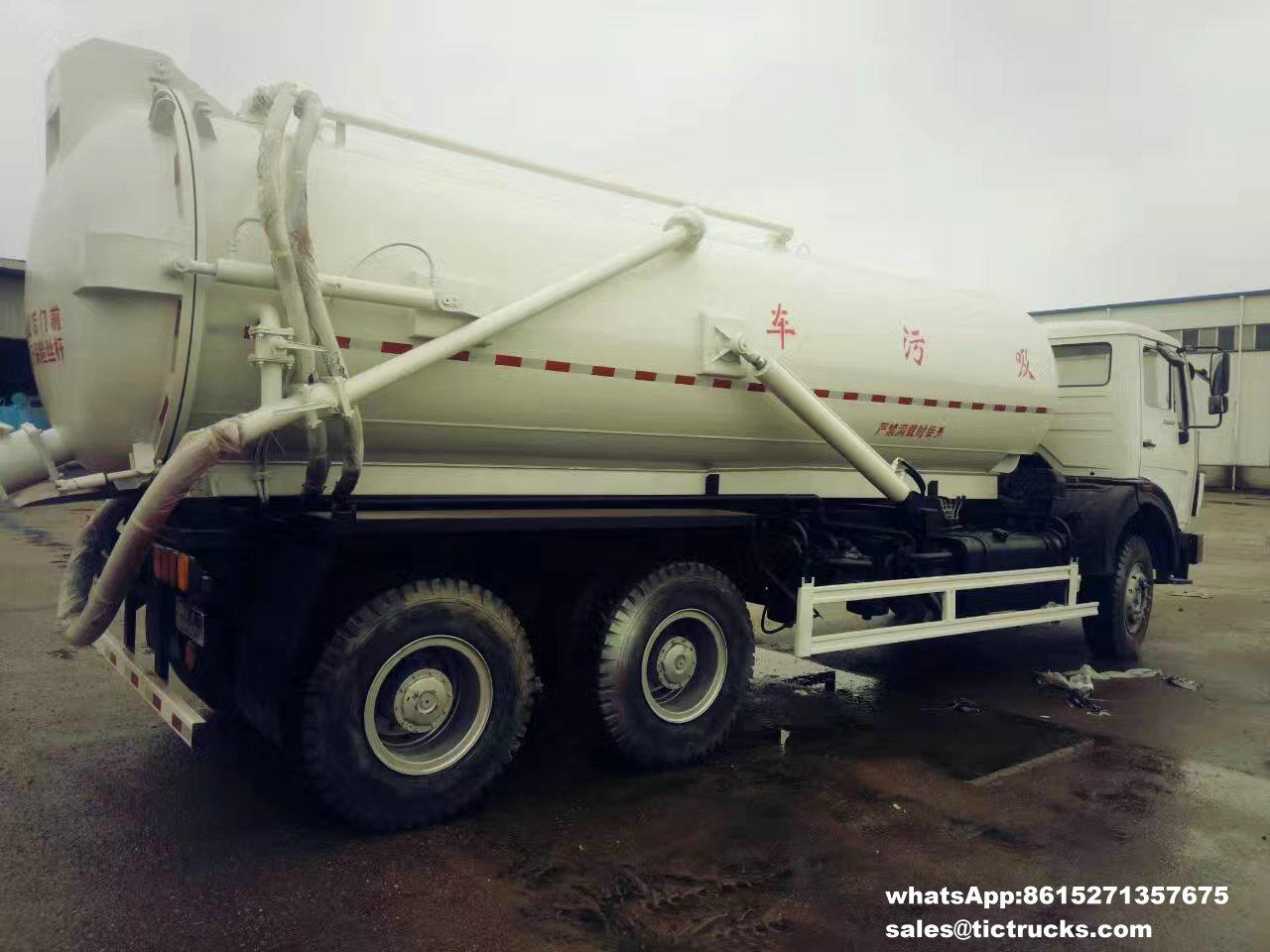 Camion -05_1.jpg d'eaux d'égout de vide de Beiben