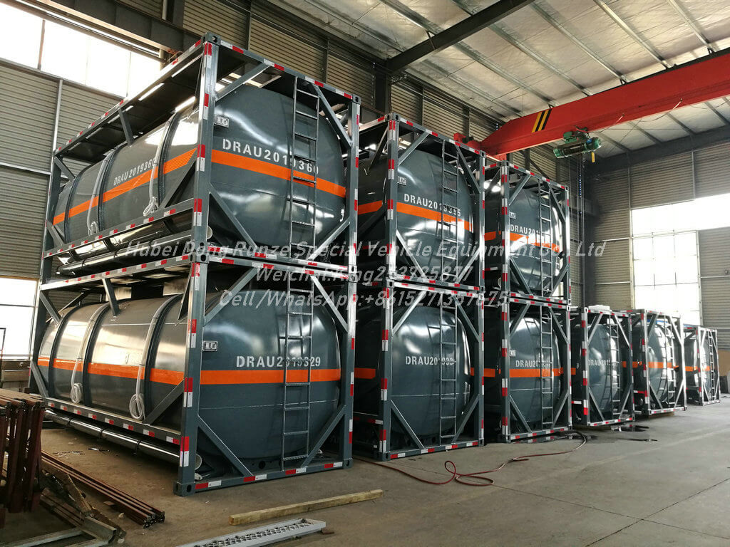 ISOTANK Sodium Hypochlorite-12m3- Tank Container Lined PE