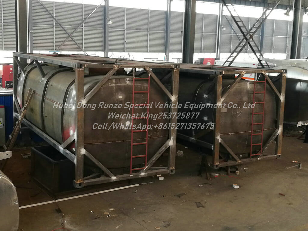ISOTANK Hydrochloric acid-17cbm- Tank Container Lined PE
