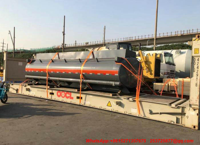 Hydrochloric Acid Tank For Truck Mounted Export
