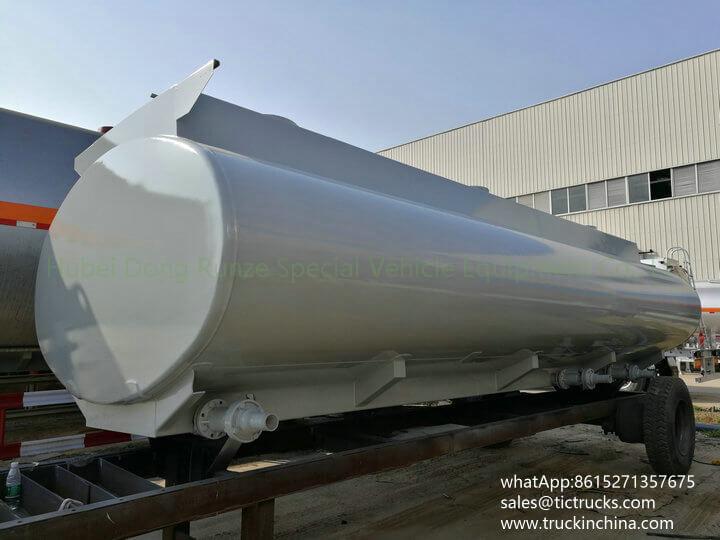 HCL Tank -17cbm-acid tank body