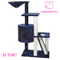 Cat Tree Furniture Condo House Scratcher Bed Toy Post