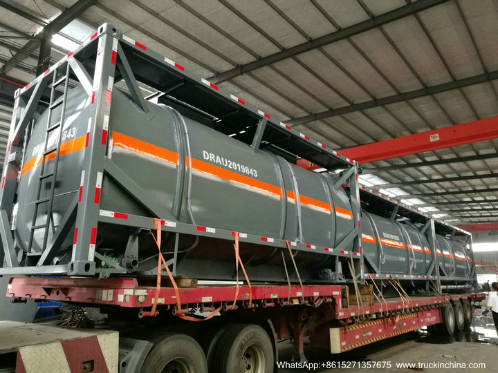 HCL Acid tank container iso49