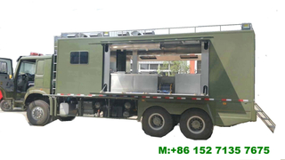 HOWO Offroad Mobile Kitchen 6x6 Customizing