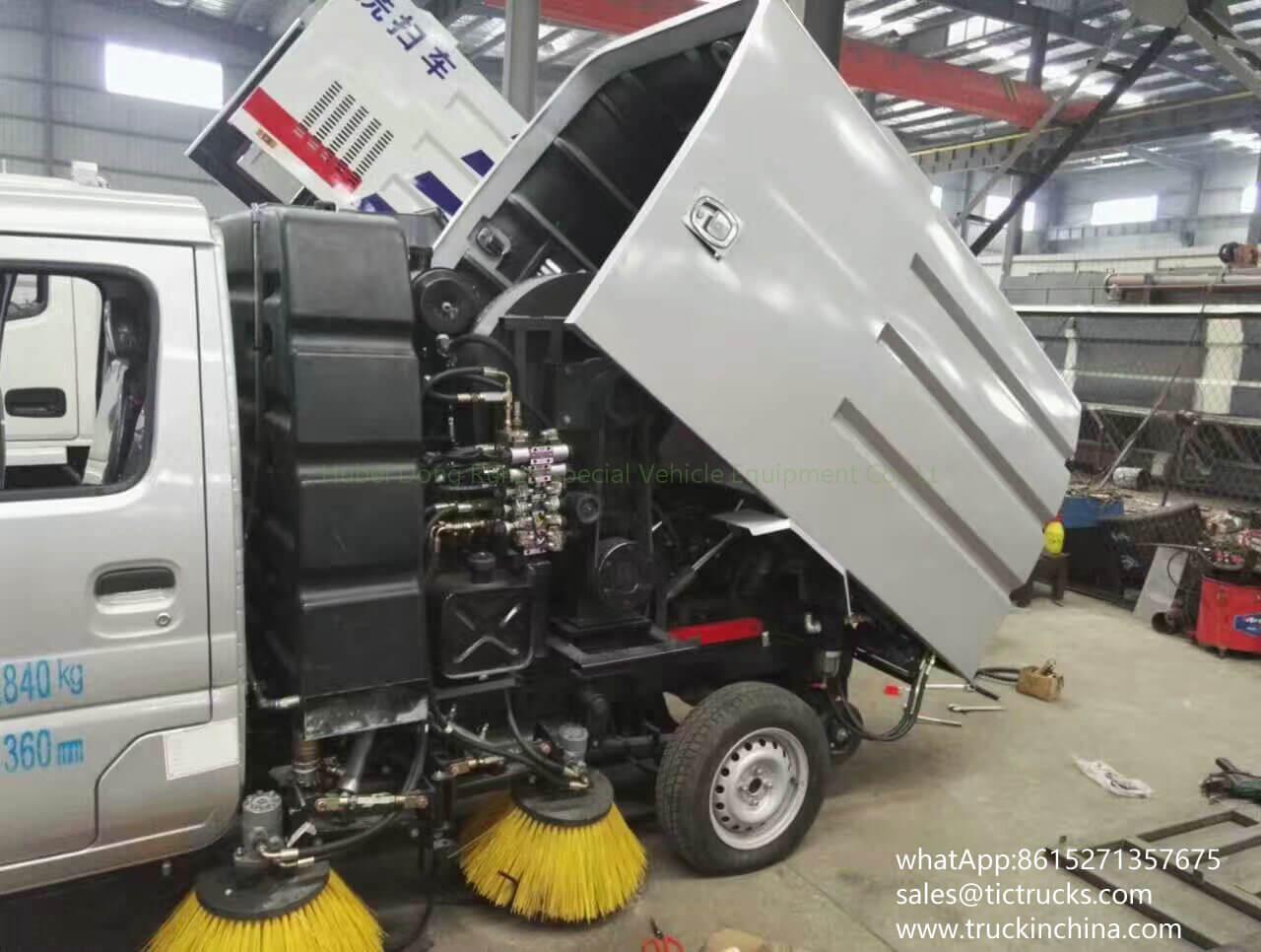 Mini balayeuse de route de la balayeuse vehicle-04T- de Changan trucks_1