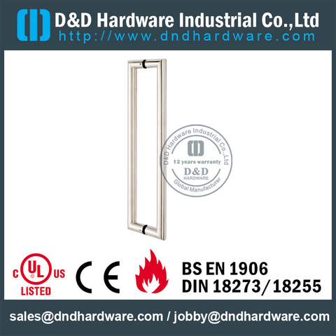 SUS 304 Couple Pull Handle-DDPH002