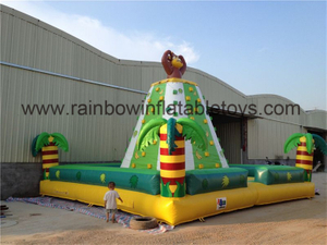 RB13017(7x7x5m) Inflatable Durable Safe Large PVC Kids Outdoor Climbing Wall For Sports Games