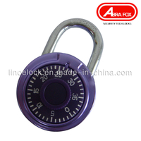 Round Combination Padlock / Zinc Alloy Colour Design (503S)