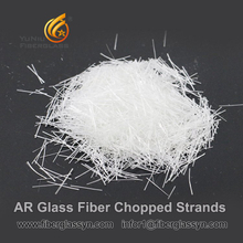 12mm AR glass fiber chopped strands
