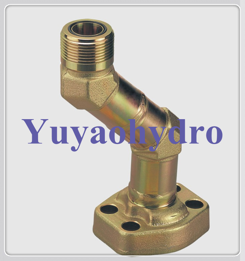 Flanged Pipe Fittings : Weld flange fittings with orfs pipe connection