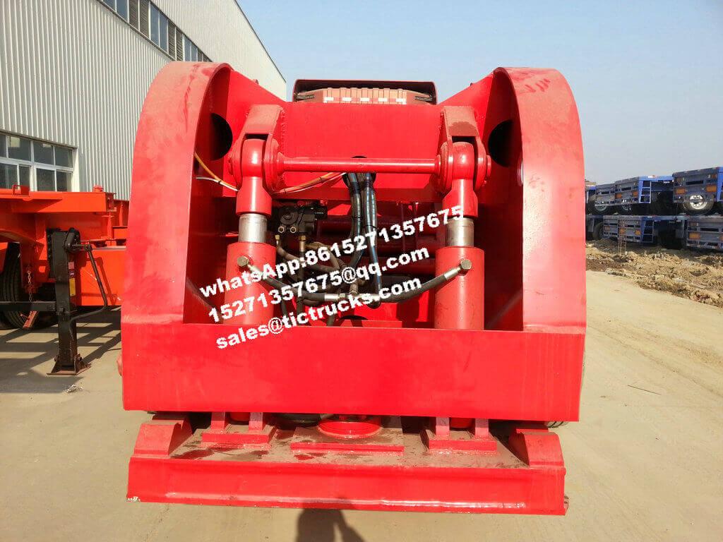 Gooseneck-118Ton-Hyraulic hydraulique Lowboy.jpg détachable