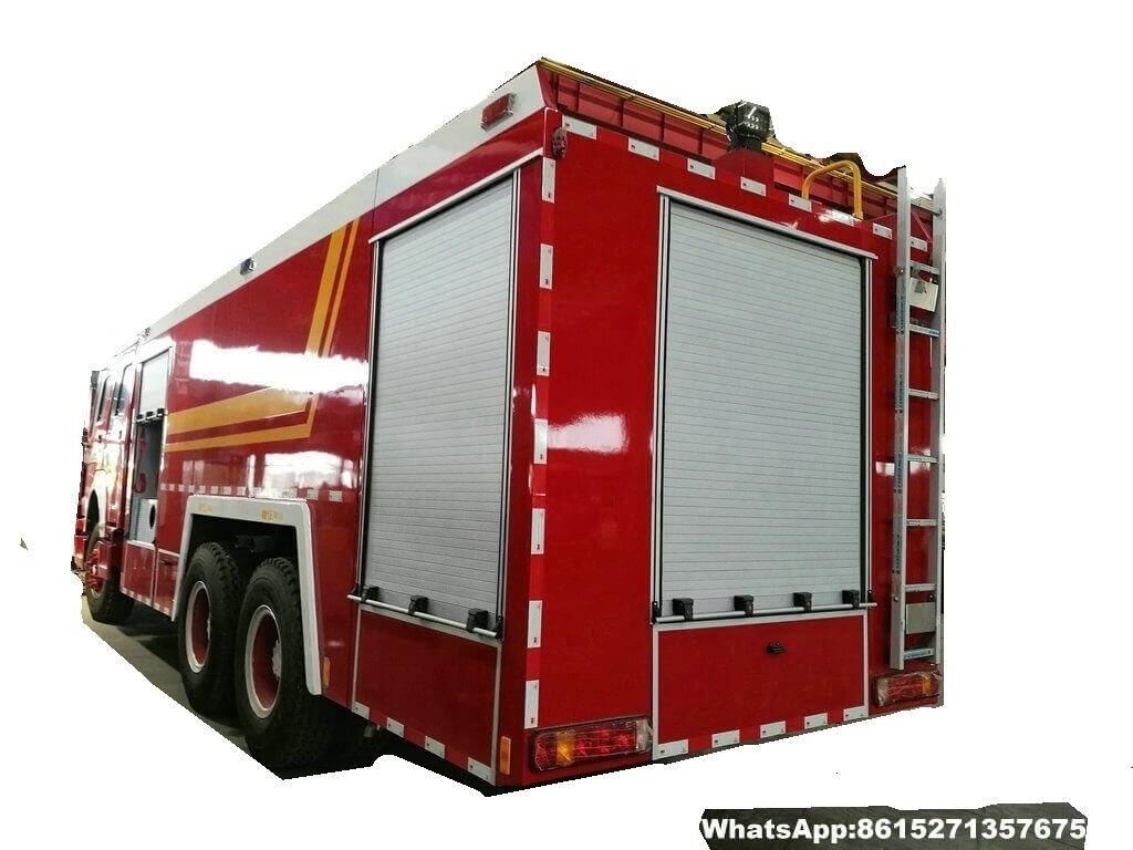 L'eau de abattage hydraulique élevée tower-64T-fire truck_1_1.jpg de HOWO