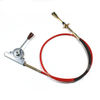 PTO Control Cable for Heavy Truck Concrete Mixer / Fuel Tanker Cable Accelerator