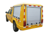 ISUZU 4x4 Pickup Emergency Accident Rescue Vehicles with Power Generator And Lighting