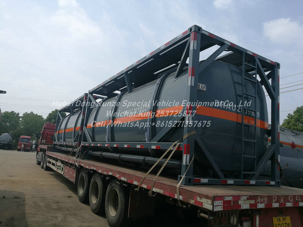 20FT HF Acid tank Container -20m3 - Tank Lined LDPE