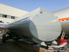 Tank body Carbon steel inner lined 16mm PE, 15000L-16500L for chemical truck lorry Customization