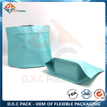 Shaped Pouch Trapezoid Pouch with One-way Degassing Valve for Coffee Packaging