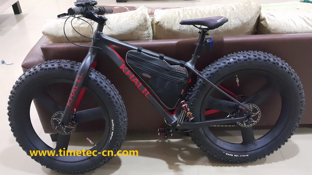 fatbike with tri spoke wheel -1