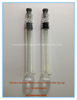 3ml Luer Lock Prefillable Syringe with Flexible Tip Cap