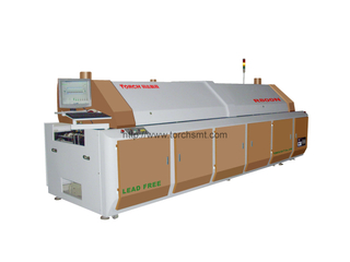 Large-size lead-free Reflow Oven with Eight heating-zones R800N