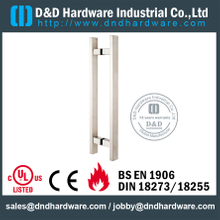 "Grade 316 Pull Handle Square ""T"" Level Double Sided for Glass Door-DDPH016"
