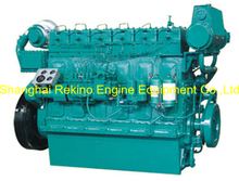 223HP 1000RPM Weichai medium speed marine diesel engine (R6160ZC223-1)