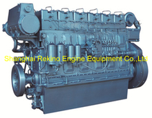 300HP 850RPM Weichai medium speed marine diesel engine (R6160ZC300-5)