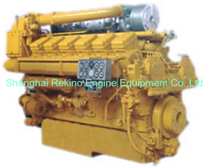 1088-1360HP JDEC Jichai 2000 marine medium speed diesel engine (12V190)